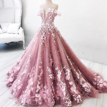 Beautiful Prom Dress A-line Off-th..