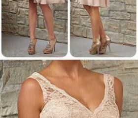 Short Lace Top Off S..