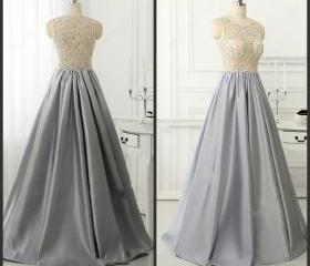 Grey Evening Gowns,F..