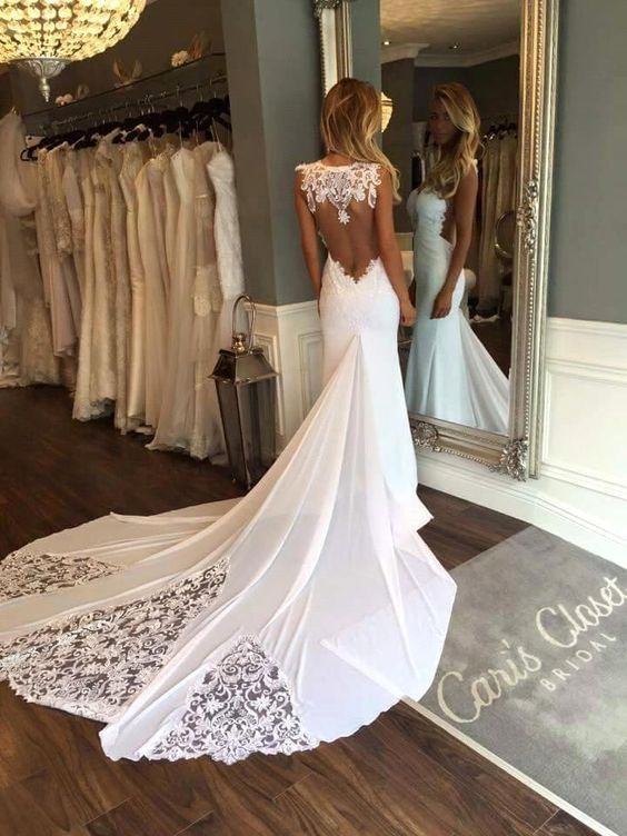 Best open lace back wedding dress pictures styles ideas 2018 best open lace back wedding dress pictures styles ideas 2018 junglespirit Gallery