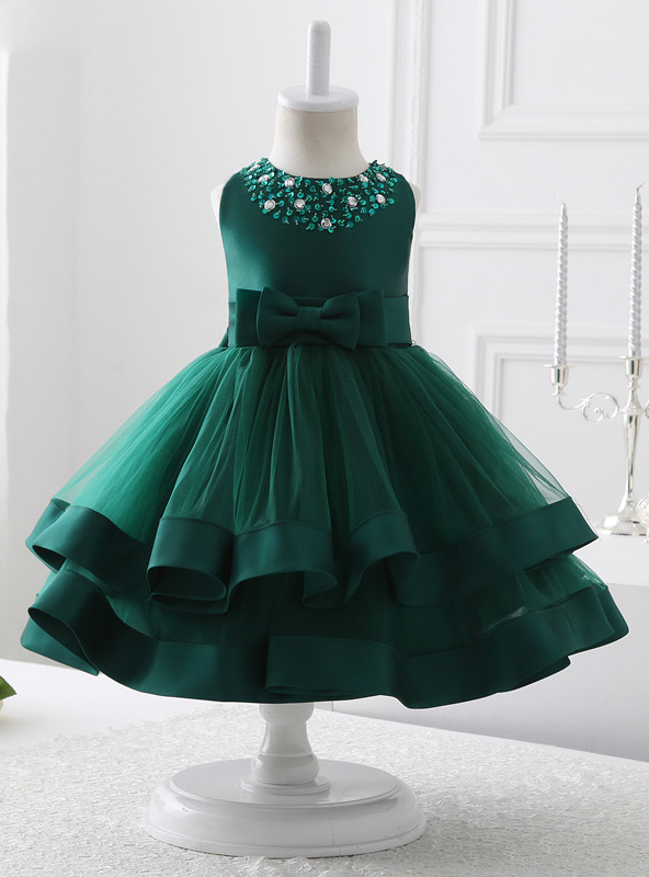 9a15b7871 2017 flower girl dresses green tulle flower girl dress communion dresses ,FG1394