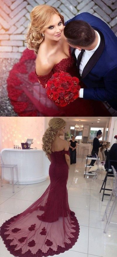 Off The Shoulder Sexy Prom Dresses,lace Prom Dresses,Cheap Prom Dresses, Evening Dress Prom Gowns, Formal Women Dress,Prom Dress