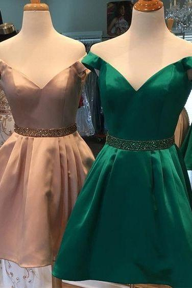 sexy off shoulder v neck short prom homecoming dresses 2017