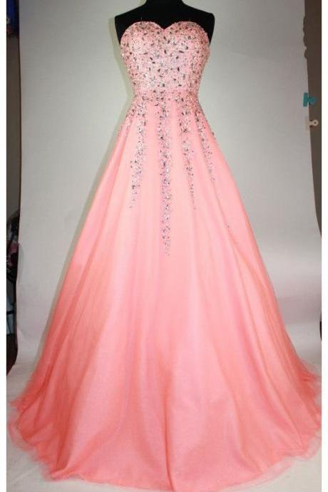 Sweetheart Elegant Prom Dress,Long Prom Dresses,Prom Dresses,Evening Dress, Evening Dresses,Prom Gowns, Formal Women Dress,P469