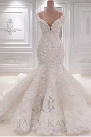 Vestido De Noiva Lace Wedding Dresses 2016 Spring Designer New Crystal Pearls Embroidery For Church Wedding Party Dresses Bridal Gowns,B2031