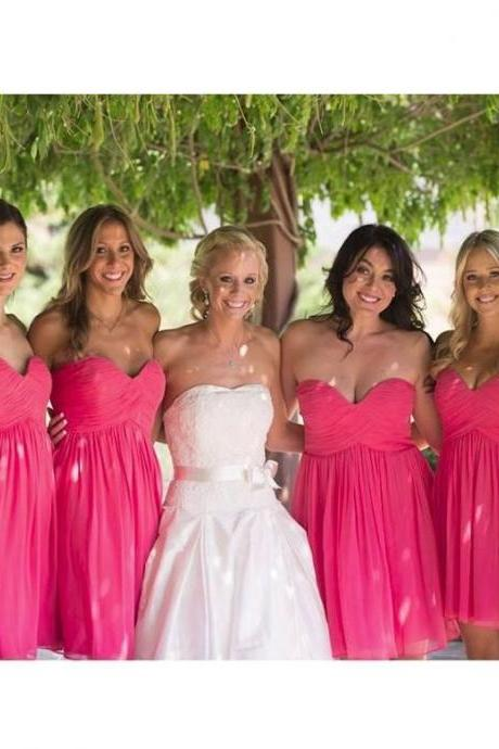 Cute Bridesmaid Dress,Simple Bridesmaid Dress,Cheap Bridesmaid Dress , A-line Bridesmaid dress,B2068