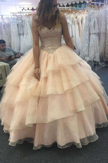 Quinceanera Dress,New Ball Gown Prom Dress Formal Party Gowns Sexy Quinceanera Dresses,P2094
