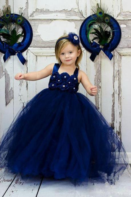 Lovely Cute Toddler Ball Gown Wedding Party Flower Girl Dresses,FG3791