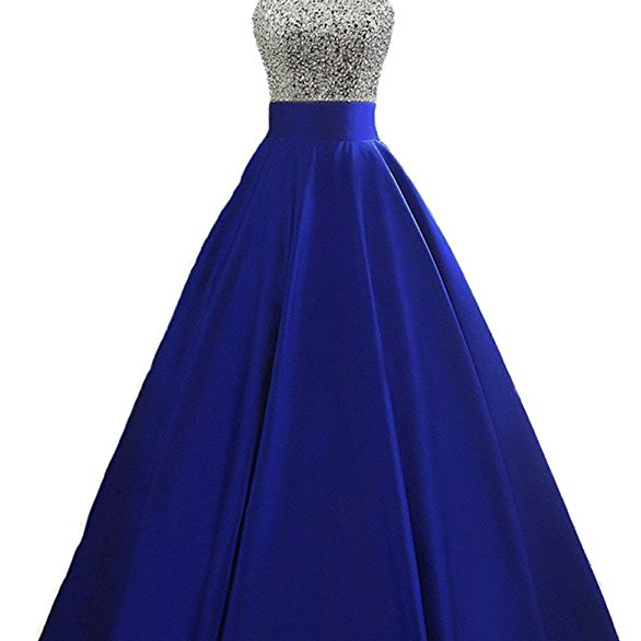 Real Sample Sexy Crystals Prom Dresses Royal blue Evening Party Gowns Sweep Train Sexy Custom Made Hottest,P3348